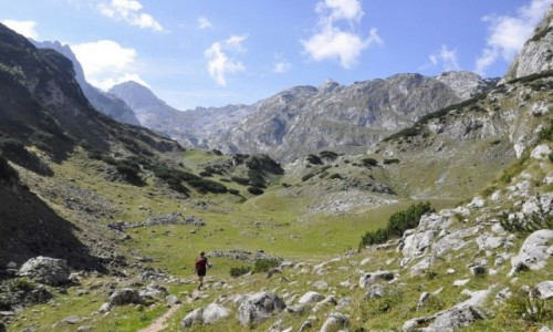 CZARNOGÓRA / Durmitor / gory / Dolina