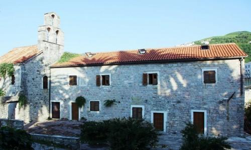Zdjęcie CZARNOGÓRA / Budva  / Stare Miasto / Stary klasztor