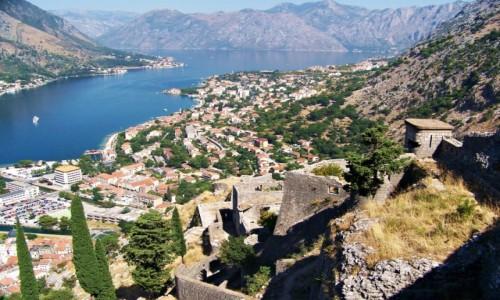 Zdjecie CZARNOGÓRA / Zalew kotorski / Kotor / Południowy fiord Europy