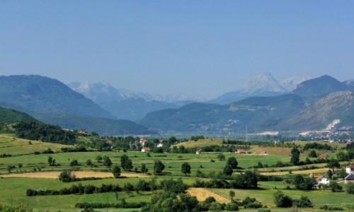 Zdjęcie CZARNOGÓRA / Berane / Berane / Widok na góry wschodniej Czarnogóry