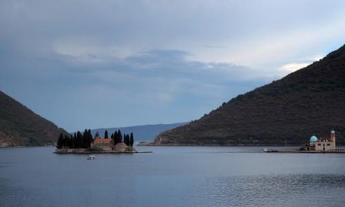 Zdjecie CZARNOGÓRA / Zatoka Kotorska / w okolicy Perast / mroczne atrakcje Czarnogóry...