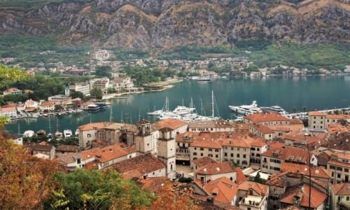Zdjęcie CZARNOGÓRA / Zatoka Kotorska / Kotor / gorące popołudnie...