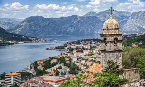 Zdjęcie CZARNOGÓRA / - / Kotor / Zatoka Kotorska