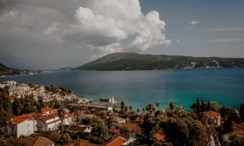 Zdjecie CZARNOGÓRA / Zatoka Kotorska / Herceg Novi  / Herceg Novi - panorama