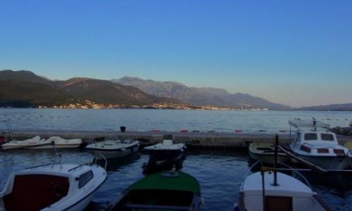 Zdjecie CZARNOGÓRA / Boka Kotorska / Bijela / Sypialnia łodzi