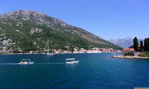 Zdjęcie CZARNOGÓRA / Boka Kotorska / Zatoka Kotorska / Za chwilę Perast