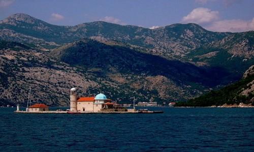 Zdjecie CZARNOGÓRA / Boka Kotorska / okolice Perastu / Czarnogórska perełka