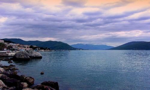 Zdjecie CZARNOGÓRA / Boka Kotorska / Herceg Novi / Zatoka w Herceg Novi