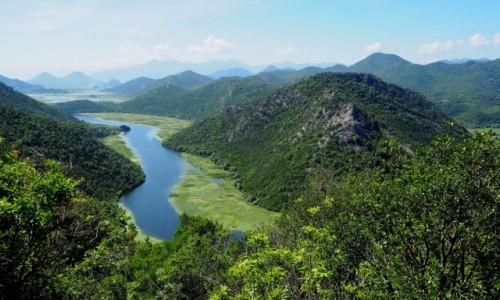 CZARNOGÓRA / - / Rijeka Crnojevića / trochę niżej...