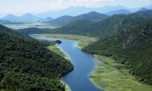 CZARNOGÓRA / - / zakole rzeki Crnojevića / Crnojevića...