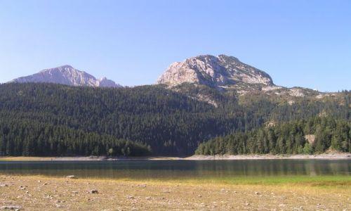 Zdjecie CZARNOGÓRA / Durmitor / jezioro czarne / widok na