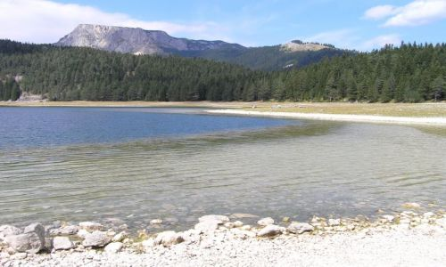 Zdjecie CZARNOGÓRA / Durmitor / Crno jezero / góry