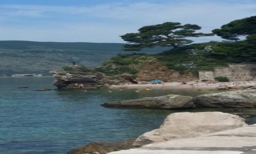 Zdjecie CZARNOGÓRA / Zatoka Kotorska / Herceg Novi / Plaża w Igalo