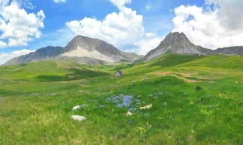 CZARNOGÓRA / Kolasin / Moračke planine / Krajobrazy Czarnogóry