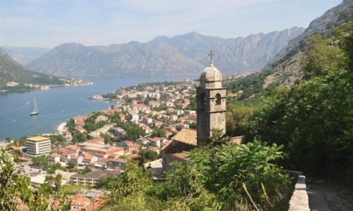 CZARNOGÓRA / Kotor / Kotor / Widok na Kotor