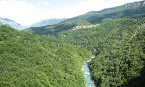 Zdjecie CZARNOGÓRA / brak / Kanion na rzece Tarze / Rijeka Tara
