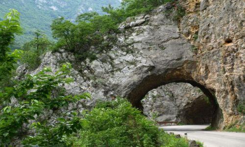 Zdjęcie CZARNOGÓRA / brak / Czarnogóra / Tunel