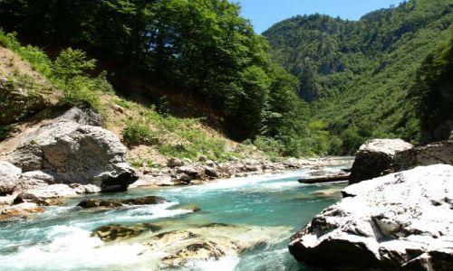 Zdjecie CZARNOGÓRA / brak / Rzeka Tara / Rzeka Tara
