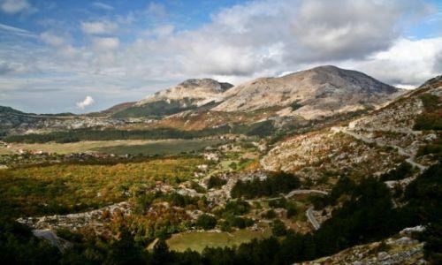 CZARNOGÓRA / brak / droga do Kotor / montenegro