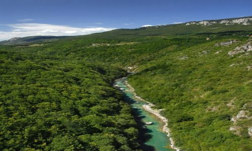Zdjecie CZARNOGÓRA / Masyw Durmitor / kanion Tary / kanion rzeki Tara