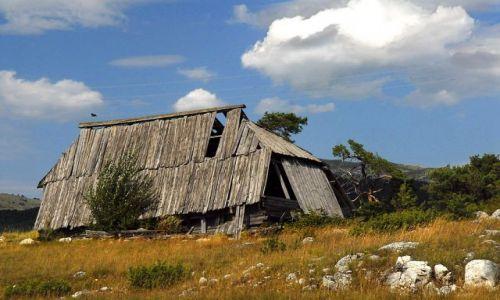 Zdjęcie CZARNOGÓRA / Masyw Durmitor / rejon Żabljaka / chata w górach