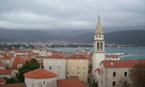 Zdjecie CZARNOGÓRA / Czarnogóra / Budva / widok na stare miasto
