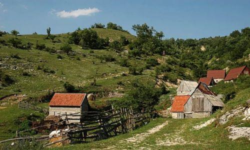 Zdjęcie CZARNOGÓRA / Ok.Durmitor / wioska / swojsko...
