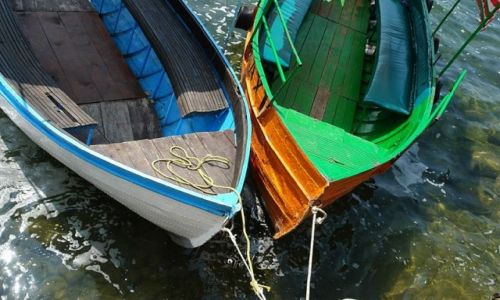 Zdjecie CZARNOGÓRA / Petrovac / brak / łódki ....