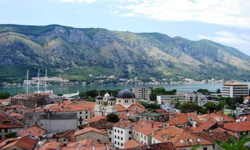 Zdjecie CZARNOGÓRA / - / Kotor / Panorama Kotor