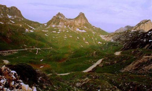 Zdjecie CZARNOGÓRA / Park Narodowy Durmitor / Przełęcz (Sedlo) 1907 / Tu kiedyś wrócę.