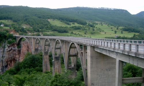 Zdjecie CZARNOGÓRA / Mojkovac Municipality / Mojkovac / Most Đurđevića