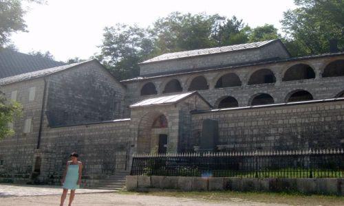 Zdjęcie CZARNOGÓRA / Cetinje / Cetinje / Monaster Narodzenia Matki Bożej w Cetyni