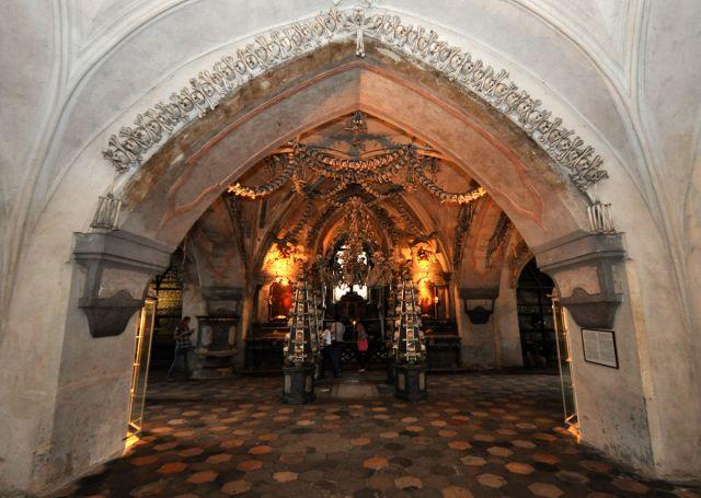 Zdj�cia: Kutna Hora, Kaplica czaszek, CZECHY