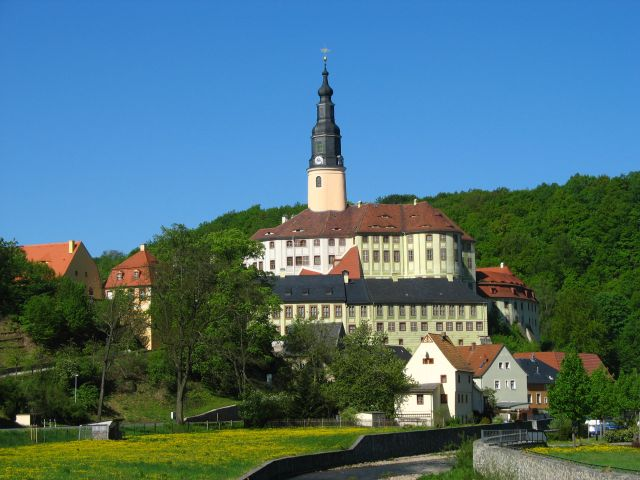 Zdjęcia: Weesenstein, zamek, CZECHY