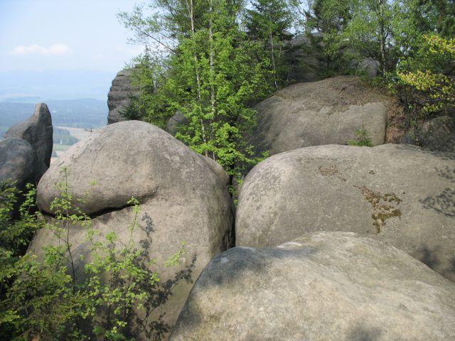 Zdjęcia: Broumovskie Steny, wygładzone skały, CZECHY