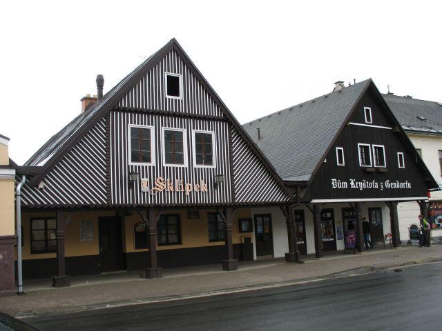 Zdjęcia: Vrchlabi, ciekawe domy, CZECHY