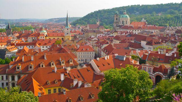 Zdjęcia: Praga, Praga, praskie dachy, CZECHY