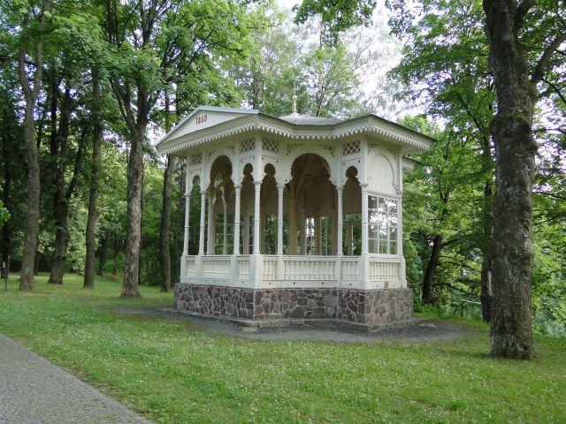 Zdjęcia: Balneopark Priessnitz, Jesenik, XIX wieczna altanka , CZECHY