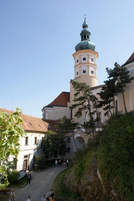 Zdjęcia: Mikulov, Morawy Południowe, Wieża pałacowa w Mikulovie, CZECHY