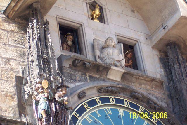 Zdjęcia: Praga, Hradczany, Zegar, CZECHY