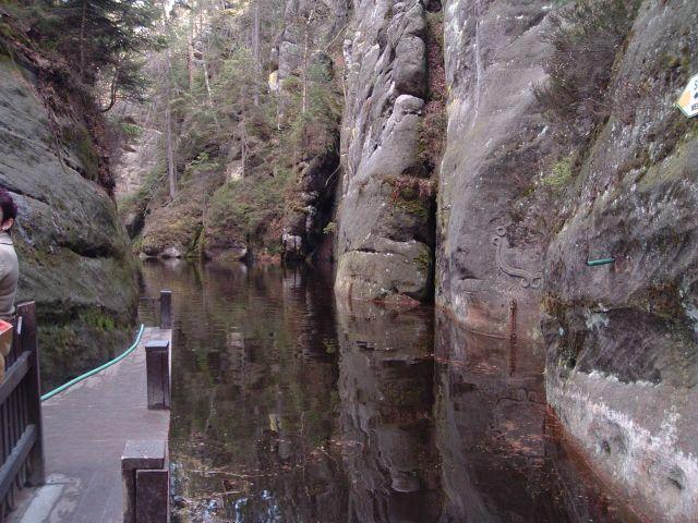Zdjęcia: Teplickie skały, Skalne Miasto 2, CZECHY