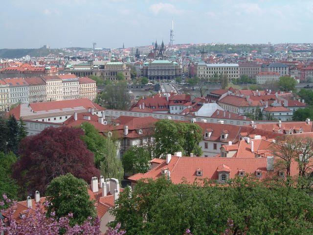 Zdjęcia: Praga, Widok z góry, CZECHY