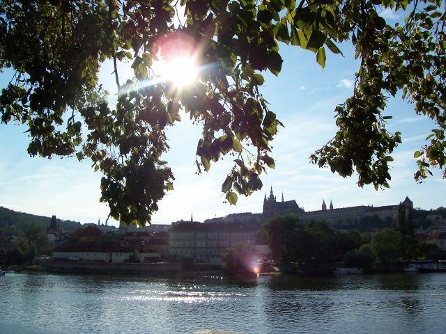 Zdjęcia: Widok na Hradczany, Praga, Hradczany, CZECHY