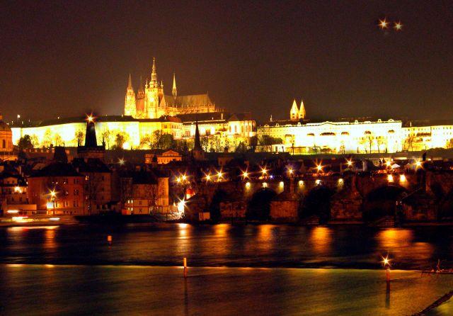 Zdjęcia: Praga, Praga nocą, CZECHY