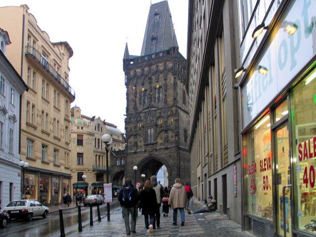 Zdjęcia: Praga, Brama prochowa, CZECHY