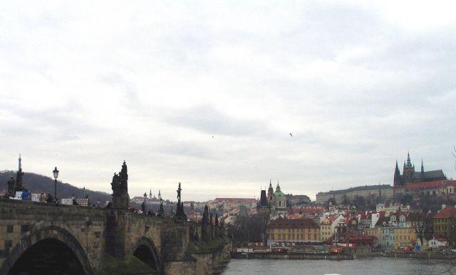 Zdjęcia: Praga, Widok na Hradczany, CZECHY