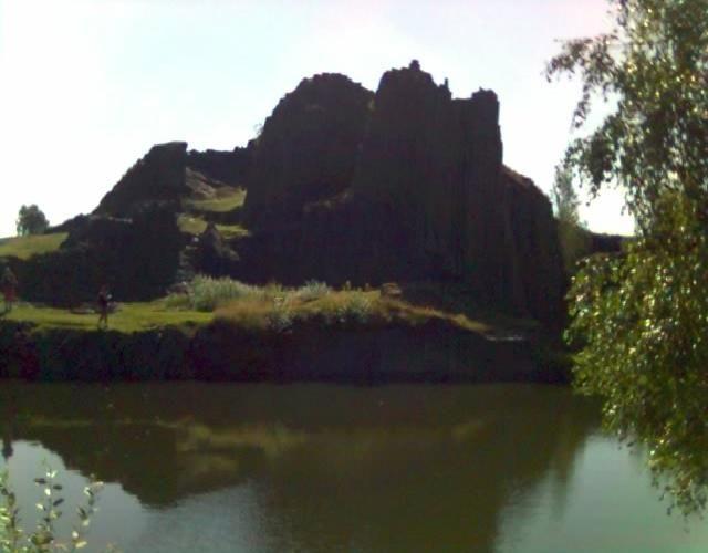 Zdjęcia: Rezerwat Przyrody Panska Skala, Czeska Szwajcaria, Panska Skala, CZECHY