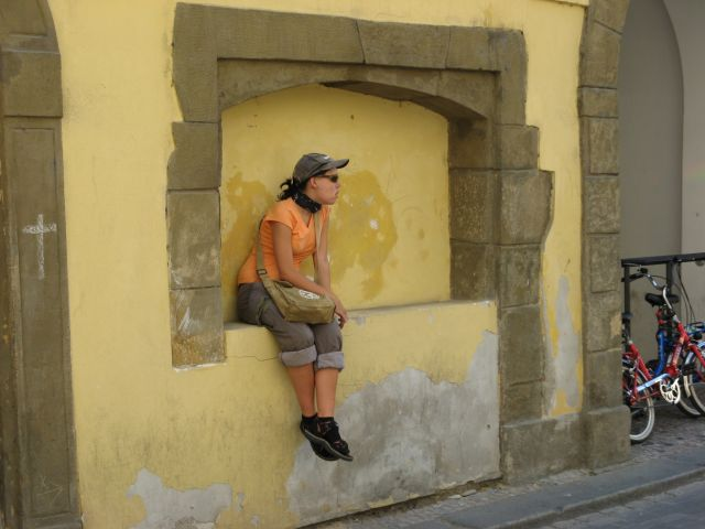 Zdjęcia: Praga, Przysiądziesz się?, CZECHY