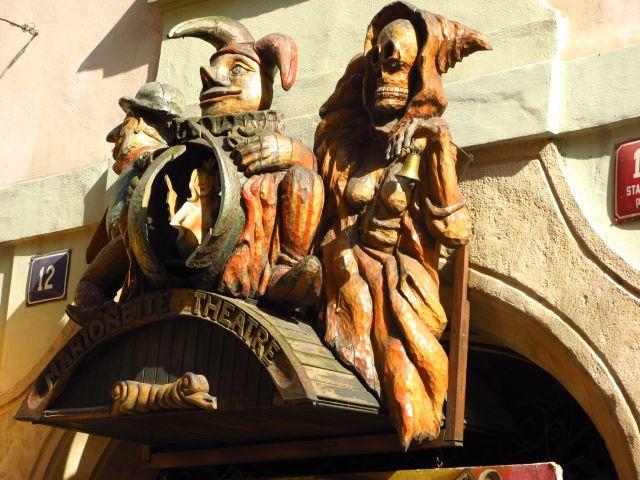 Zdjęcia: Praga, Marionette theatre, CZECHY