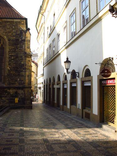 Zdjęcia: Praga, Zaułek, CZECHY